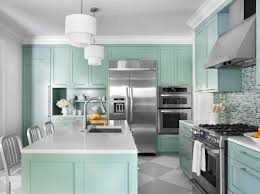 Wall Paint For Kitchen White Wall Paint Color Ideas For Kitchen With Turquoise Cabinet