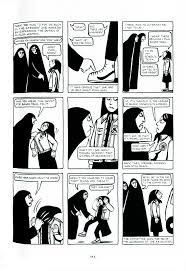 best images about from panel to page graphic persepolis tabular reading the page as a page because of strong play of black