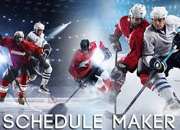 Sports Team Schedule Maker Automated Online Hockey Schedule Maker Software