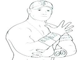 Coloring Pages Wwe Coloring Pages John Cena Wrestling Printable