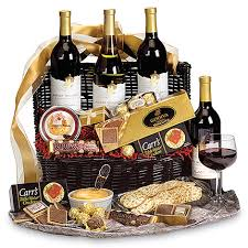 wine and chocolate gift basket conning a duo of iva chocolateondavi wine