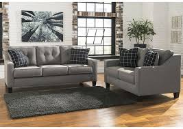 Brindon Charcoal Sofa And Loveseat Benchcraft amazing Brothers
