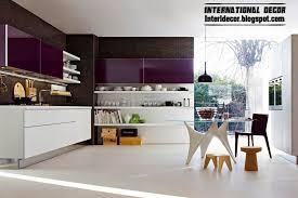 modern kitchen ideas 2014. Wonderful Modern Purple Black Kitchen And Modern Kitchen Ideas 2014