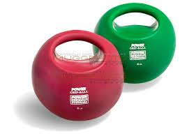 ball weights. green and red power ball pair of hand weights. weights a