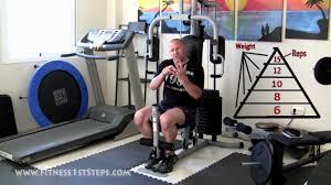 The Full Multi Gym Workout Wednesday & Thursday + Progress Sheet ...