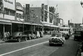 1962年昭和37年頃の北千住商店街ヨーカ堂の創業地写真は日比谷線