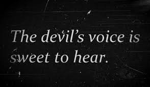 quotes sweet satan voices devil black and white quotes madisonedie •