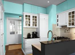 Blue Paint For Kitchen Kitchen In Aqua Seawind Kitchens Rooms By Color Color