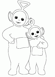 Small Picture Good Teletubbies Coloring Page 76 With Additional Coloring Print