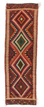 kilim rug persian suzani 245 x 81 cm