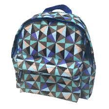 <b>Рюкзак</b> детский <b>№</b>1SCHOOL <b>Треугольники</b> голуб купить в ...