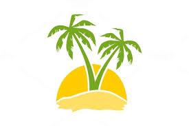 restaurants logo with a palm tree.  Tree Restaurant Logo With Yellow Diamond And Black Palm Tree Restaurants A L