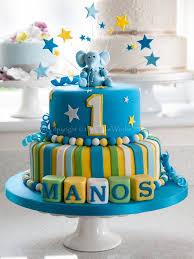 Elephant Design Birthday Cake