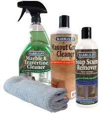 marble cleaner bathroom set