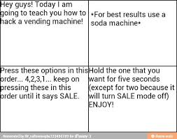 How To Hack Into A Vending Machine Classy Vending Machine Hack Life Hacks Pinterest Vending Machine Hack