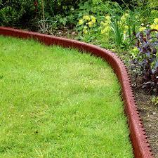 garden edger. Rubber Garden Edging Edger