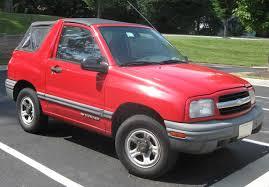File:Chevrolet Tracker convertible .jpg - Wikimedia Commons