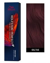 Wella Koleston Red Color Chart Wella Koleston Perfect Me Permanent Hair Color 66 46 Intense Dark Blonde Red Violet