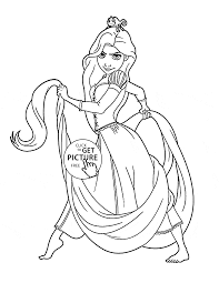 Adult Disney Princess Coloring Pages Free To Print Disney Princess