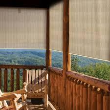 pergola roll up outdoor porch shades