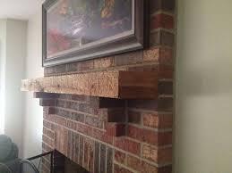 brick fireplace mantels. Inspiration Idea Brick Fireplace Mantel Ideas Rustic Fireplaces Mantels Home Decor E