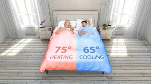 Heat Cool Smartduvet Breeze Heat Cool Self Making Bed Dudeiwantthatcom