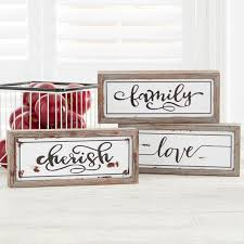 framed inspirational plaque set of 3