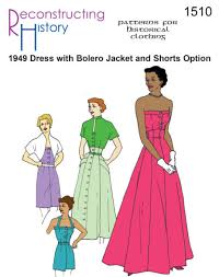 1940s Dress Patterns Enchanting 48s Sewing Patterns Dresses Overalls Lingerie Etc