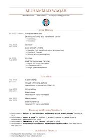 Sample Resume For Computer Operator Best Of Cv Computer Operator Madrat Co Shalomhouseus