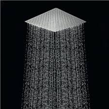 built in rain shower head. aliexpresscom buy free shipping 40cm square rainfall shower head16 inch stainless steel ultra thin ceiling rain built in head w