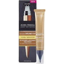 john frieda brilliant brunette visibly brighter in shower lightening treatment reviews in hair care advisor