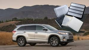 How to change cabin air filter for Toyota Highlander 2017 and ...