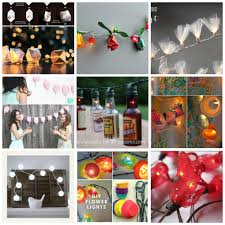 diy lighting ideas. Party Light Collage Diy Lighting Ideas