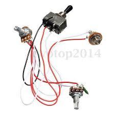 way pickup selector wiring image wiring diagram electric guitar wiring harness kit 3 way toggle switch 1 volume 1 on 3 way pickup