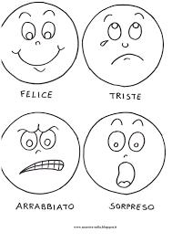 Stampaecoloraweb Disegni Da Stampare E Colorare Sulle Emozioni