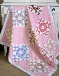 Quilt Inspiration: Single Wedding Ring Quilts & This vintage-inspired quilt by Sharon Holland is known as a Single Wedding  Ring in the historical records. The circa 1890 block is also known as Crown  of ... Adamdwight.com