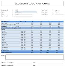 Employee Attendance Tracker Excel Templates Excel