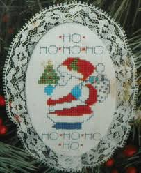 Designs For The Needle Inc Designs For The Needle Inc Lace Ornament Cross Stitch Kit