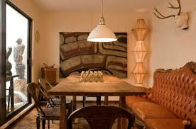 lighting idea. Stunning Sculptural Lighting Idea Is Seen In This Dining Space