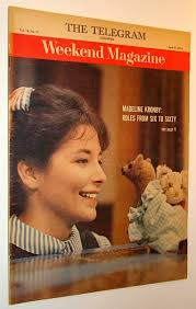 Weekend Magazine, 25 April 1964 (Newspaper Insert) - Madeline Kronby Cover  Photo