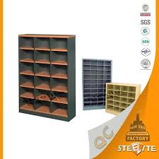 pigeon hole storage multi functional industrial laminate cell pigeon hole storage cabinet metal drawer cabinet pigeon