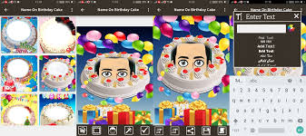 name photo on birthday cake by sigma app solution 4