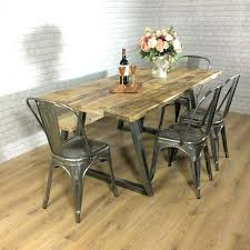 industrial dining table. Industrial Dining Table Captivating Room And Best Style Ideas On Home Design Round Set .