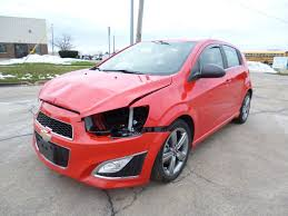 2014 Chevy Chevrolet Sonic RS turbo repairable salvage car for ...