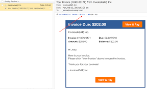 Web Dashboard What Does My Customer See Invoice