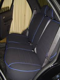 ford escape full piping seat covers rear seats