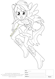 Small Picture Rainbow Dash Girl Coloring Pages Coloring Pages