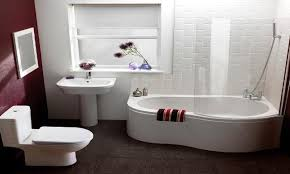 small freestanding soaking tub shower combo