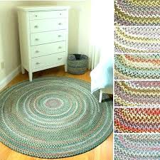 7 ft round rugs 5 round rugs ft braided extra tips rug blue inch r x 7