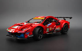 Lego 42125 technic ferrari 488 gte af corse #51 in stock for immediate shipping. Lego Technic 42125 Ferrari 488 Gte Af Corse 51 Review